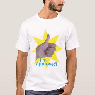 Camiseta ¡Soy aprobado!