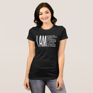 Camiseta SOY buena sensación del mensaje positivo