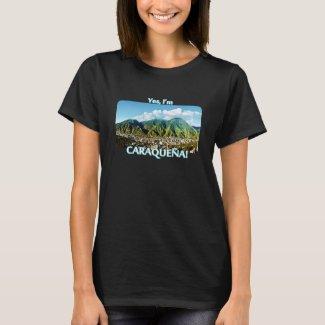 Camiseta ¡Soy Caraqueña! Parque nacional de Ávila