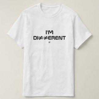 Camiseta Soy diferente