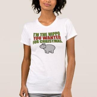 Camiseta Soy el hipopótamo que usted quiso para el navidad