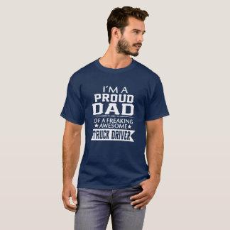 Camiseta Soy el PAPÁ del CONDUCTOR DE CAMIÓN ORGULLOSO