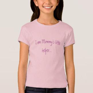 Camiseta Soy el pequeño ayudante de la mamá .....