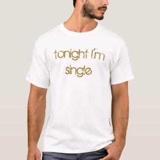 Camiseta soy esta noche solo