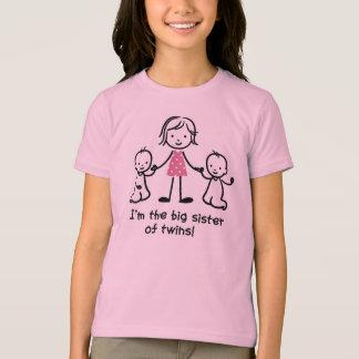 Camiseta Soy la hermana grande de los t-shrits de los