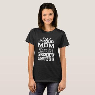 Camiseta Soy la MAMÁ del EMPLEADO DE CORREOS ORGULLOSO