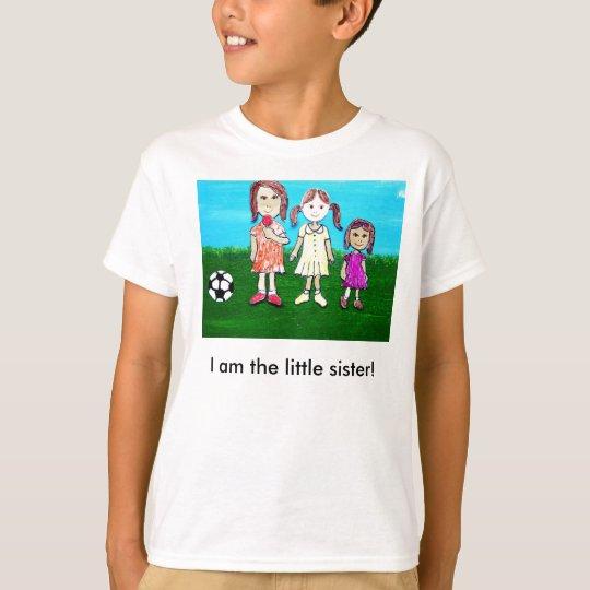 Camiseta ¡Soy la pequeña hermana!