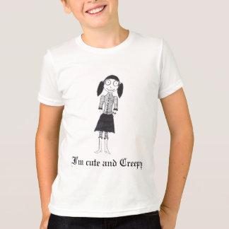Camiseta Soy lindo y espeluznante