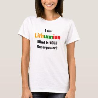 Camiseta soy lituano