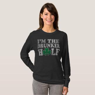 Camiseta Soy los pares del día de Drunker el medio St