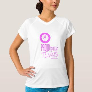 Camiseta Soy orgulloso jugar a tenis