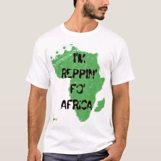 Camiseta Soy REPPIN FO África