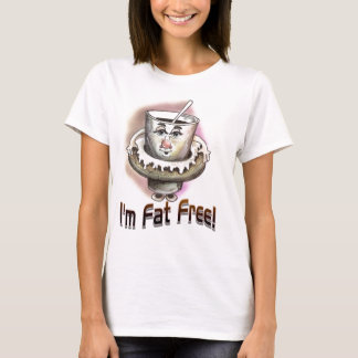 Camiseta ¡Soy sin grasa!