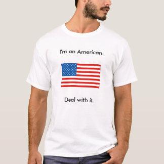 Camiseta Soy un americano. Trato con él