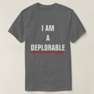 CAMISETA SOY UN DEPLORABLE