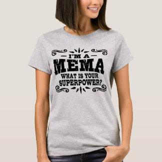 Camiseta Soy un MeMa cuál es su superpotencia