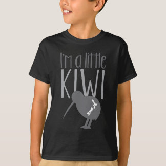 Camiseta Soy un pequeño kiwi con el pájaro lindo de Nueva