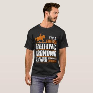 Camiseta Soy una abuela del montar a caballo