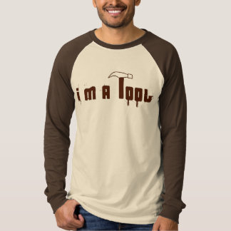 Camiseta Soy una herramienta (el béisbol)