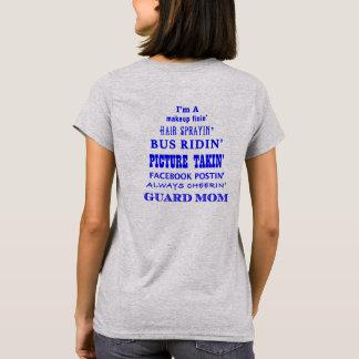 Camiseta Soy una mamá del guardia