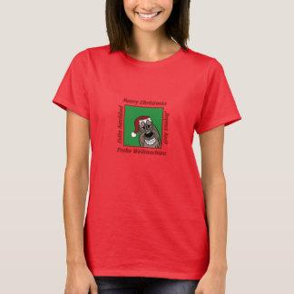Camiseta Spinone Italiano la navidad oscura