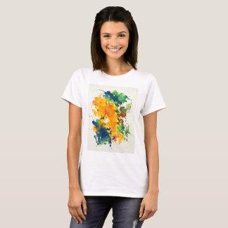 Camiseta Splash Art Watercolor  Colorful Abstract