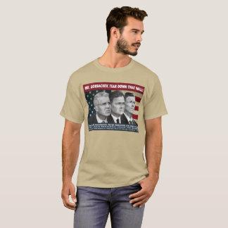 Camiseta ¡Sr. Gorbachev, rasga abajo esta pared!