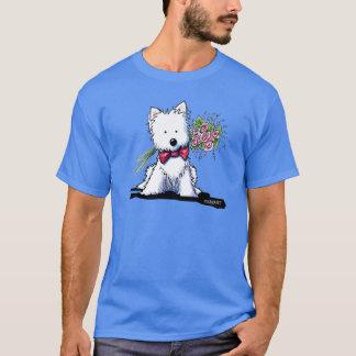 Camiseta Sr. Pawfect Westie de KiniArt