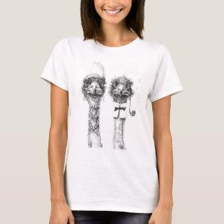 Camiseta Sr. y señora Ostrich