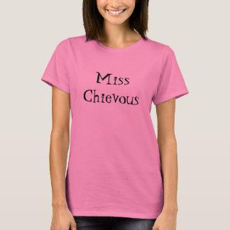 Camiseta Srta. Chievous - modificada para requisitos