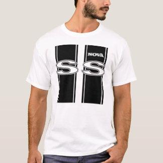 Camiseta SS que compiten con rayas