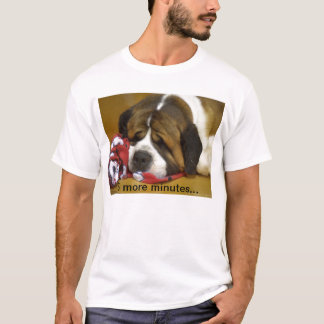 Camiseta St Bernard soñoliento
