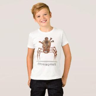 Camiseta steampunk del robot