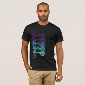 Camiseta Steampunk_Phage en color vivo