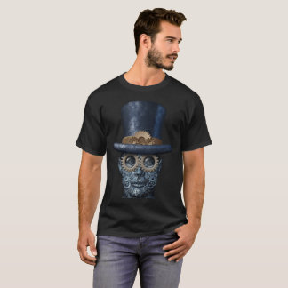 Camiseta Steampunk y punk del vapor
