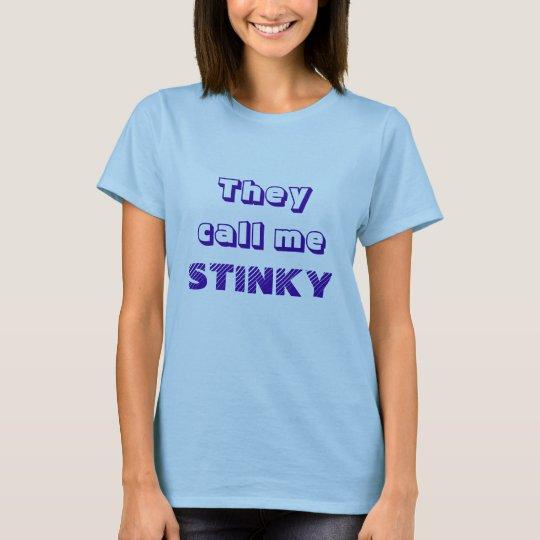 CAMISETA STINKY:)