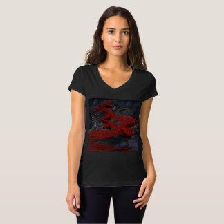 Camiseta Strings playera, damas, art unique digital