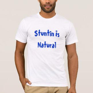 Camiseta Stuntin es natural
