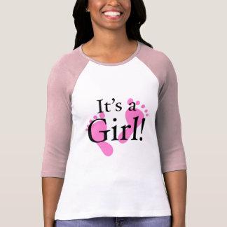 Camiseta Su un chica - bebé, recién nacido, fiesta de