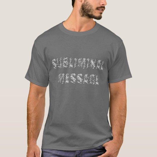 Camiseta subconsciente del mensaje