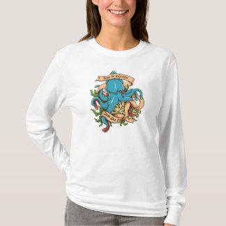 Camiseta Subida del pulpo del monstruo de Kraken