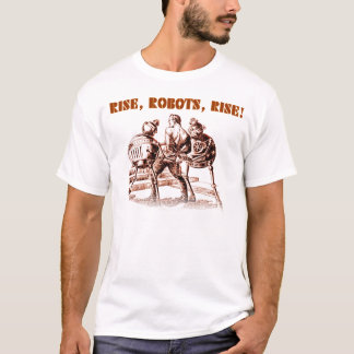Camiseta ¡Subida, robots, subida!