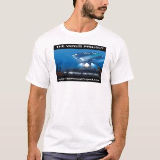 Camiseta submarina de la ciudad