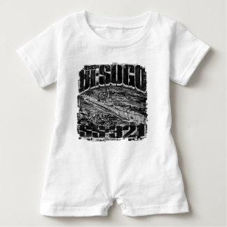 Camiseta submarina del mameluco del bebé de Besugo