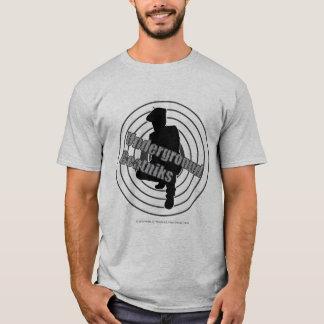 Camiseta subterráneo del gris de los Beatniks