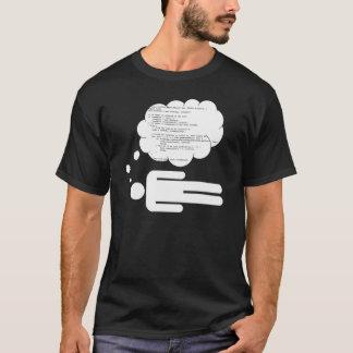 Camiseta Sueño en código