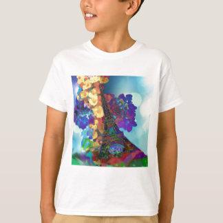 Camiseta Sueños de París de flores