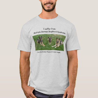 Camiseta Sufro de Germa múltiple… -… - Modificado para