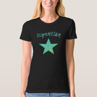 Camiseta Superestrella verde