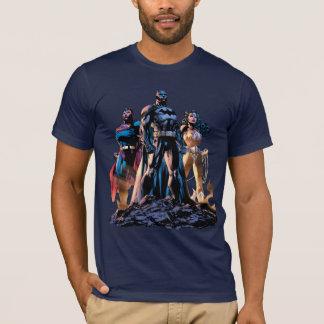Camiseta Superhombre, Batman, y trinidad de la Mujer